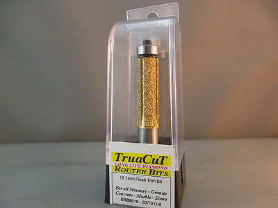 Router Bit- 12.mm DIAMOND Flush Trim DRB8016 (TruaCuT)
