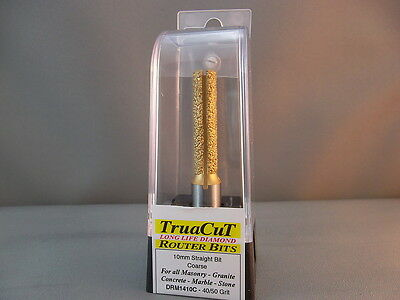 Router Bit- 10mm DIAMOND Straigh DRM1410C  (TruaCuT)