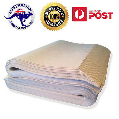 Butchers Paper Wrapping Packing Paper 600x810mm-100 Sheets White 100% Food Grade