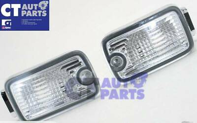 91-98 NISSAN SILVIA 180SX RPS13 Front Bumper Crystal Clear SIGNAL LIGHTS