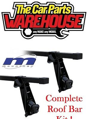 Full Roof Rack Bar Kit SUM101 Mountney Direct Fit ~ BMW 3 SERIES E36 COUPE 92-98