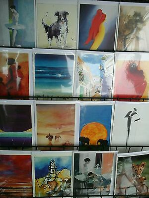 100 x prime arts cards . job lot , wholesale .