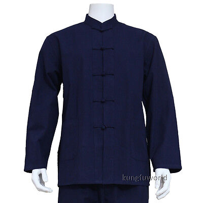 Great Quality Cotton Shaolin Kung fu Jacket Martial arts Tai Chi Wing Chun Suit