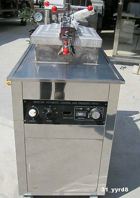 25L Large capacity Commercial Gas Pressure Fryer LPG Gas shipped by DHL