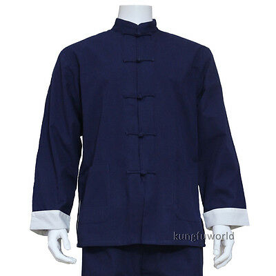 High Quality Cotton Martial arts Tai Chi Kung fu Jacket Wushu Clothing Suit