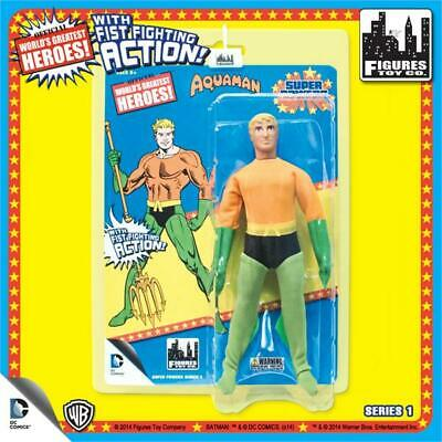SUPER POWERS SERIES 1 AQUAMAN 8 INCH FIGURE MOSC MEGO FIST FIGHTER