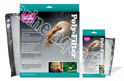 Arcadia Poly Filter Sheets, Nitrite Nitrate Ammonia Remover Marine Tropical Fish • EUR 14,58