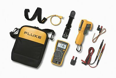 Fluke 116/62 MAX+ HVAC Technician's Multimeter & IR Thermometer Combo Kit