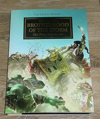 Warhammer 40k Black Horus Heresy limited edition novel: Brotherhood of the Storm