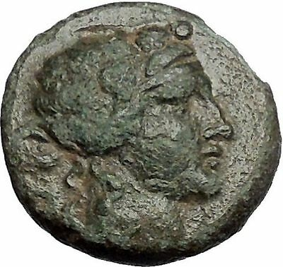 MARONEIA in Thrace 148BC Authentic Ancient Greek Coin - DIONYSUS WINE GOD i54865