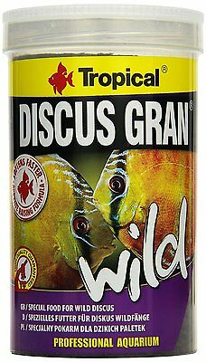TROPICAL DISCUS GRAN WILD  Slowly sinking granules for wild discus