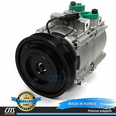 NEW A/C Compressor w/ Clutch 58187 for 01-04 Hyundai Santa Fe 2.4L