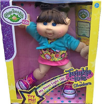 Cabbage Patch Kids Twinkle Toes By Sketchers (Madison Janelle) ~ New