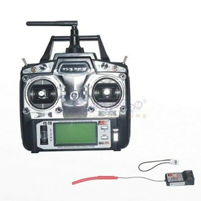 Flysky FS-T6-RB6 2.4GHz FS RC Helicopter Transmitter Receiver 6CH 6Channel Radio