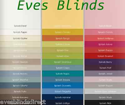 Made to Measure replacement Vertical blind slats vanes 89mm MANY COLOURS