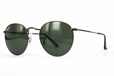 Ray Ban Sonnenbrille / Sunglasses RB3447 Round Metal 029 47[]21   3N +Etui  # C6