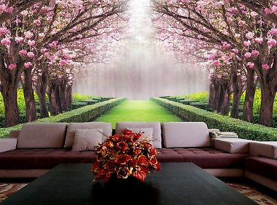 Romantic tunnel  Wall Mural Photo Wallpaper GIANT DECOR Paper Poster Free Paste