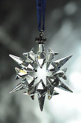 Swarovski Crystal 2007 Annual Christmas Ornament Swarovski RETIRED!