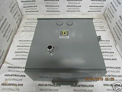 Square D Lighting Contactor 8903Sp02 In Enclosure New
