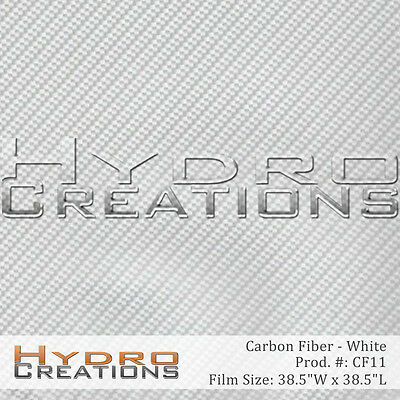 Hydrographic Film For Hydro Dipping Water Transfer Film Carbon Fiber - White