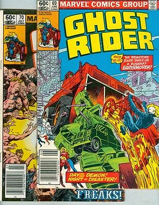 Ghost Rider #69, #70, #71, #72, #73, and #74