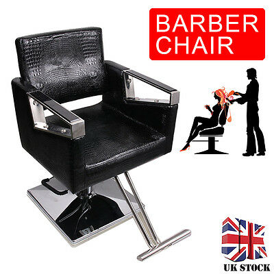 Pro Adjust Hydraulic Barber Reclining Salon Chair Hairdressing Beauty Furniture