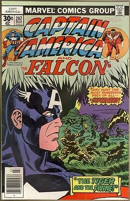 Captain America #207 - FN/VF