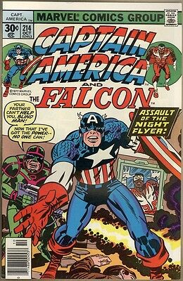 Captain America #214 - FN/VF