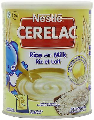 Nestle Cerelac Rice with Milk 400g (from 6 months)