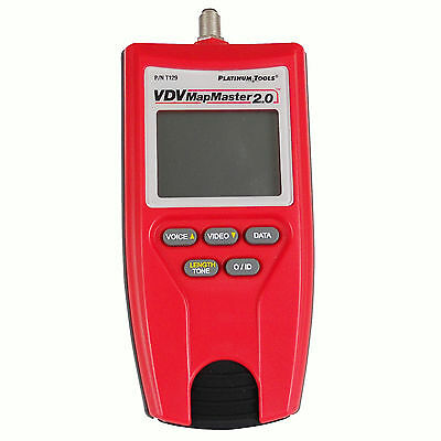 Platinum Tools VDV Mapmaster 2.0 Network Cable Tester Measure Tool