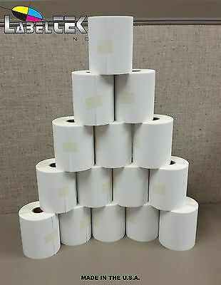 12 Rolls 4x6 Direct Thermal Labels 250/roll- Zebra 2844 / Eltron zp450