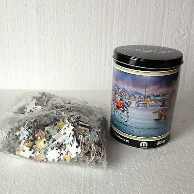 Chrysler Dodge Mopar Jeep - Jig Saw Puzzle In Tin Can - Hockey Theme