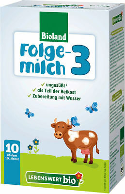 5 -boxes Holle  lebenswert-bio  Stage- 3  Free PRIORITY Shipping10/2017