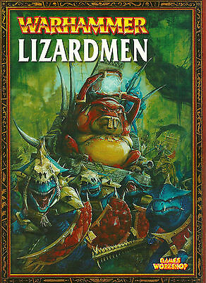 """warhammer Armies: Lizardmen"" 2003 1St Pb Ed Nf Many Color & B/w Pictures"