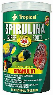 Tropical granulated food with a high content of Spirulina For AFRICAN CICHLIDS