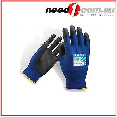 12 X Force360 Eco PU Safety Gloves