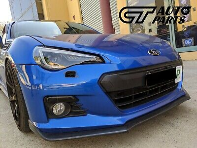 STI S Pack Style Front Lip for Subaru BRZ