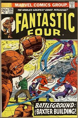 Fantastic Four #130 - FN/VF