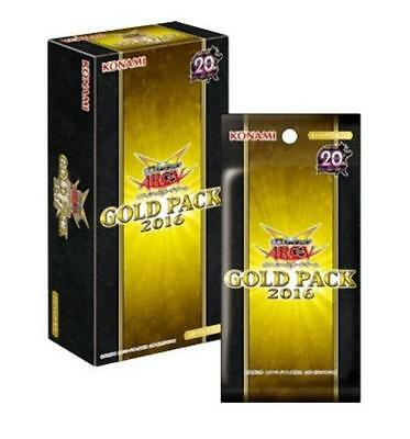YuGiOh ARC-V OCG GOLD PACK 2016 BOX New Japan
