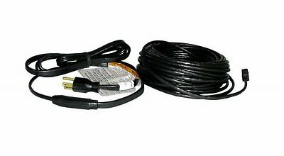 Easy Heat Inc ADKS-600 120ft. 600W Electric Roof De-icing Cable, Black