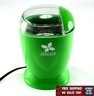 Electric Tobacco Shredder Cutter Converter Herb Grinder New Free Shipping