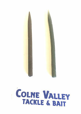 Anti tangle sleeves Brown, Green or mixed stiff soft 55 mm Colne valley tackle