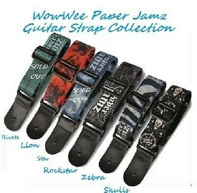 ~~One (1) Paper Jamz Guitar Strap Series 1 Collections-Immediate Shipping~~