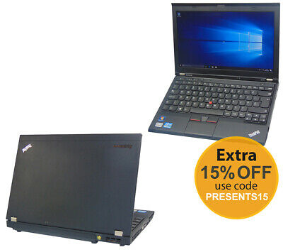 Lenovo Thinkpad X230 Core i5 2.60GHz 16GB Ram Office SSD Windows 10 Laptop