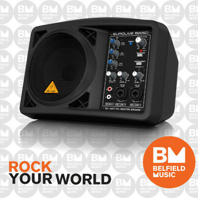 Behringer EUROLIVE B205D Powered PA Speaker 150W Monitor 5.25'' Ultra-Compact