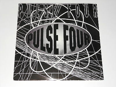 """Pulse Four - 12"""" EP - Mental Cube - Smart Systems - Indo Tribe - 1992 - 12TOT 25"""