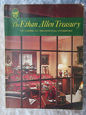 Old 1960's-70's Ethan Allen Treasury Catalog Furniture Etc 70th Edition