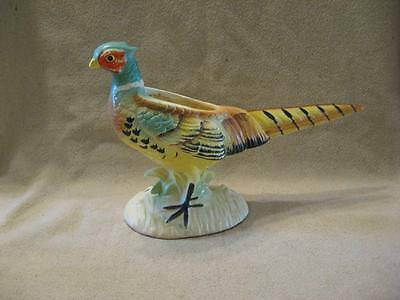 Cute Vintage Relpo #5785 Golden Pheasant Planter
