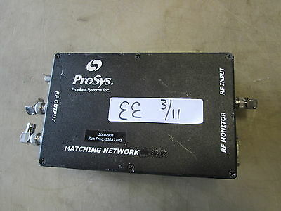 Used ProSys Matching Network VSWR, RF Monitor??  MAKE OFFER!!!!
