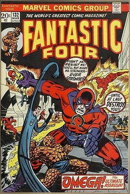Fantastic Four #132 - VF+